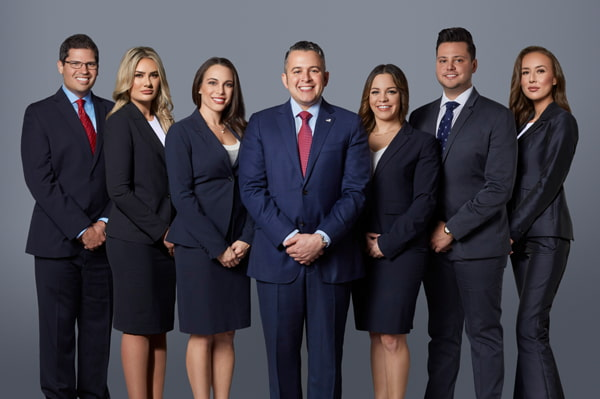 Group photo of the David Di Pietro lawfirm lawyers